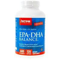 Kapsułki Jarrow Formulas EPA-DHA Balance 600 mg - 120 kapsułek