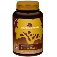 Maca BIO Rainforest Foods (120 kapsułekx500mg) (5060213550216)
