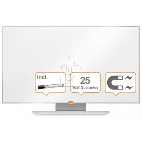 """Tablica suchościeralna NOBO Nano Clean 189x107cm panoramiczna 85"""" stal lakierowana rama aluminiowa (5028252522854)"""