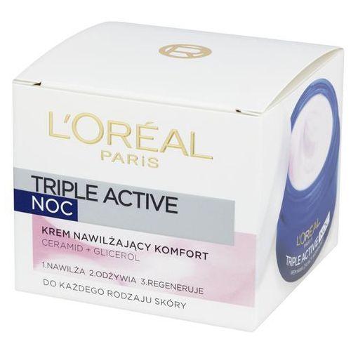 Triple active noc krem nawilżający komfort 50 ml marki L'oreal paris - galeria