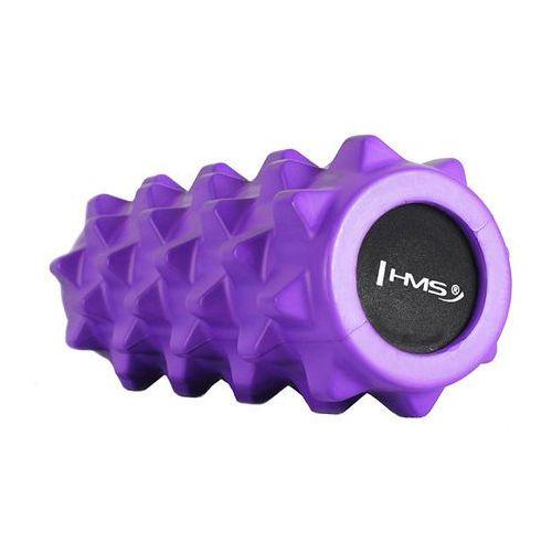 Hms Wałek, roller do ćwiczeń fs107 - fioletowy - fioletowy