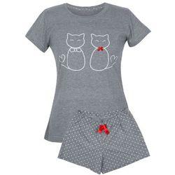 ! piżama damska - dwa koty kr.r spodenki r: marki Muzzy