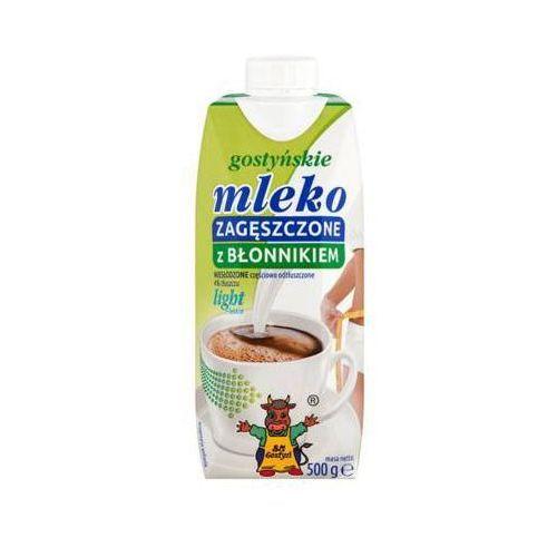 GOSTYŃ 500g 4% Light z błonnikiem Mleko zagęszczone niesłodzone