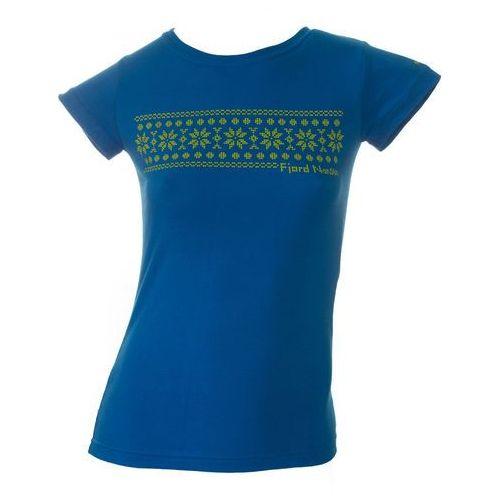 Koszulka damska norwegian stars women - blue, Fjord nansen