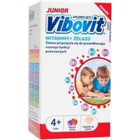 Vibovit Junior Witaminy + Żelazo tabl.do ssania - 30 tabl. (5900004073251)