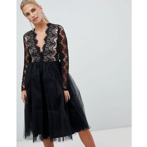 b10be0867e London long sleeve lace tutu dress - black (Rare) - sklep ...