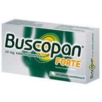 Buscopan Forte 20mg x 10 tabletek