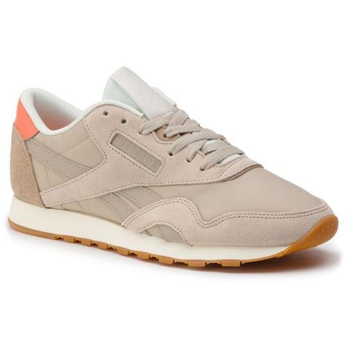 reebok CL LTHR PEARLIZED OR ROSE BLANC bei