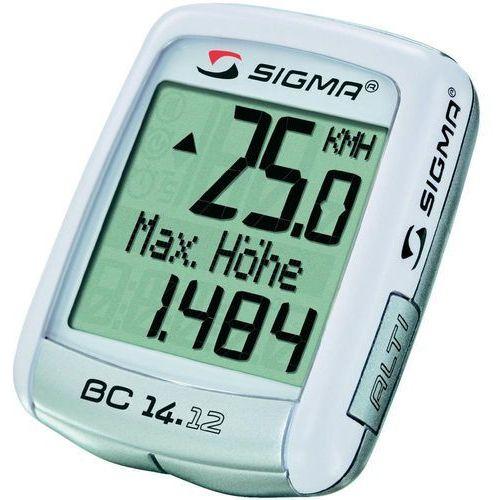 Sigma 04150 licznik rowerowy bc 14.12 alti przewodowy, pl menu, wysokościomierz