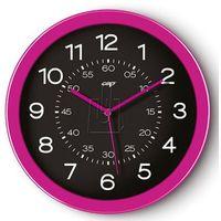 Zegar ścienny PBS Pro Gloss różowy, kolor Zegar