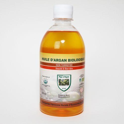 Maroko sklep Olej arganowy kosmetyczny – butelka 500ml