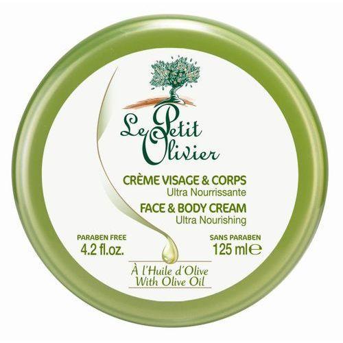Ultra odżywczy tonikiem ciała z oliwek 125 ml Le petit olivier