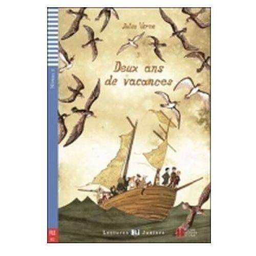 LF Deux ans de vacances książka + CD. Lectures ELI Juniors. Poziom A2, oprawa miękka