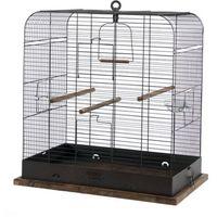 klatka retro madelaine dla ptaków 54x34x53cm - czarna - miedź antyczna marki Zolux