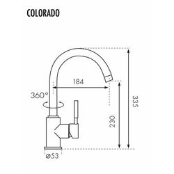 Bateria Blue Water Colorado BW-5901730610208