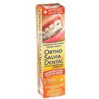 Uniwersalna pasta ortho salvia dental exclusive travel (żółta) - dla osób noszących aparaty ortodontyczne w podróży 75ml marki Atos