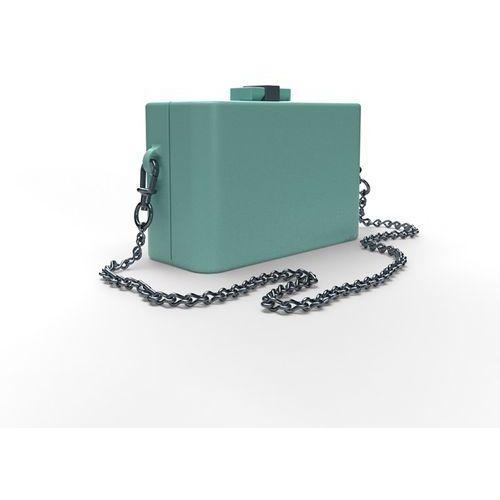 Torebka damska NanoCubie pastel turquoise