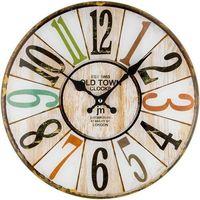 Lowell 14878 zegar ścienny, śr. 34 cm, kolor Lowell