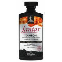Farmona JANTAR Szampon z wyciągiem z bursztynu i węglem aktywnym do włosów przetłuszczających się