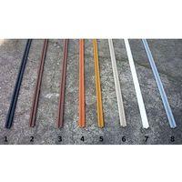 Prowadnice do szyb terrarium jednotorowa pcv - 10cm marki Terrasklep