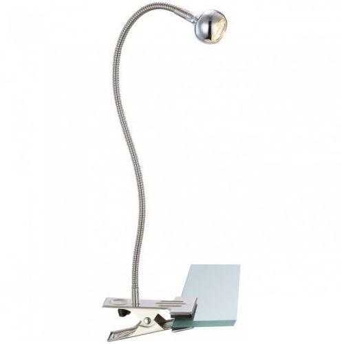 lampa biurkowa SERPENT LED z klipsem, GLOBO 24109K