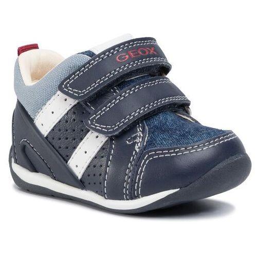 Sneakersy GEOX - B Each B. B B020BB 08513 C0693 Navy/Lt Blue, kolor niebieski