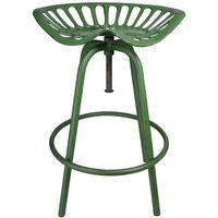Esschert Design Stołek barowy zielony metal IH023