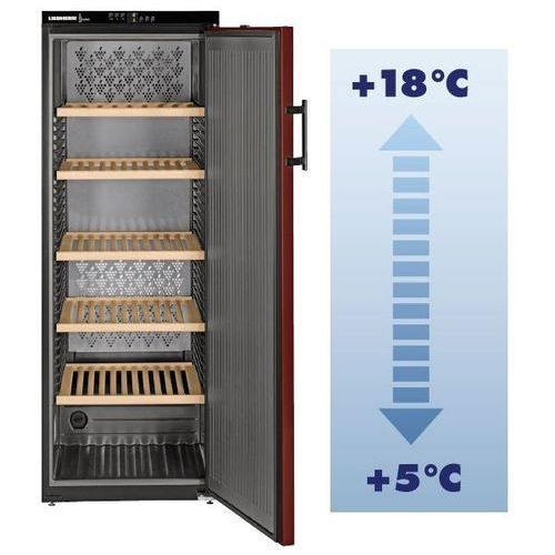 Winiarka Vinothek | maks. 200 but. | +5°C +18°C | 377L | 600x739x(H)1650mm
