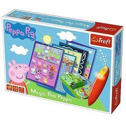 Trefl Gra magic pen - świnka peppa