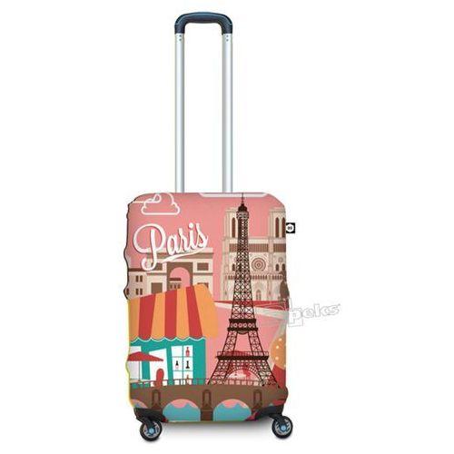 BG Berlin pokrowiec na małą walizkę / rozmiar S / Paris - Paris (6906053042278)