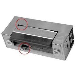 Rygiel elektromagnetyczny (elektrozaczep) re-28g2 symetryczny z pamięcią i wyłącznikiem 12v ac/dc od producenta Eura-tech