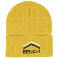 czapka z daszkiem BENCH - Turn Up Beanie With Graphic Antique Moss (KH029)