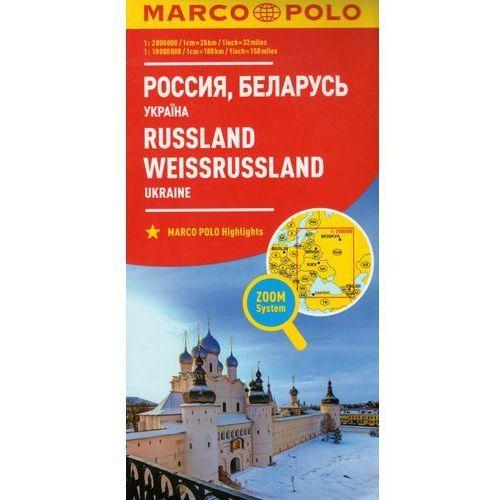 Marco Polo Mapa Samochodowa Rosja Białoruś Ukraina 1:2000 000 Zoom, praca zbiorowa