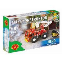 Mały konstruktor hero wóz strażacki 148 elementów marki Alexander