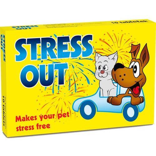 Tabletki Dermapharm Stress Out Naturalny preparat uspokajający dla Psa i Kota 10 tabletek