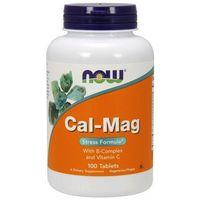 Tabletki Now Foods Cal-Mag Stres Formuła 100 tabl.