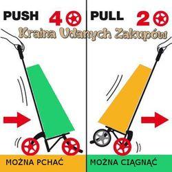 Wózki na zakupy  krainaudanychzakupow.bazarek.pl