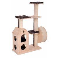 Zooplus exclusive Kittys playhouse drapak dla kota - kremowy| darmowa dostawa od 89 zł i super promocje od zooplus!