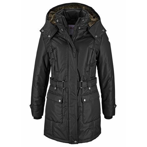 Bonprix Płaszcz zimowy czarny