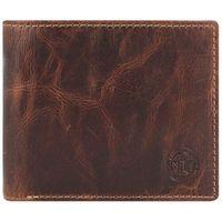 Billy the Kid Ranger Portfel RFID skórzany 12 cm brown ZAPISZ SIĘ DO NASZEGO NEWSLETTERA, A OTRZYMASZ VOUCHER Z 15% ZNIŻKĄ