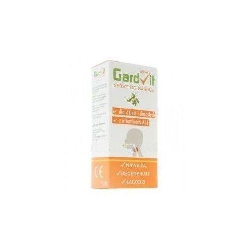 GARDVIT OLIVE Spray do gardła dla dzieci i dorosłych 15ml