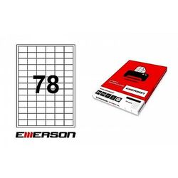 Etykiety biurowe  Emerson WoJAN