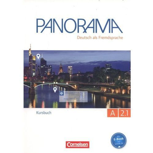 Panorama A 2.1 Kursbuch - Finster Andrea, Giersberg Dagmar, Jin Friederike, Paar-Grunbichler Verena (2015)