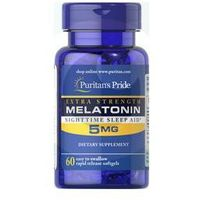 Kapsułki MELATONINA 5 mg - 60 kapsułek sen bezsenność