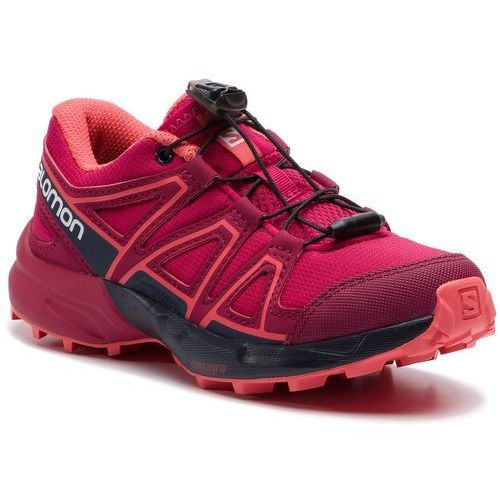 Buty SALOMON - Speedcross J 404821 09 M0 Cerise./Navy Blezer/Dubarry, kolor różowy
