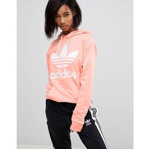 x pharrell williams hu coral hoodie - pink marki Adidas originals