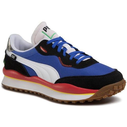 Sneakersy PUMA - Style Rider Play On 371150 01 Daz Blue/P/Black/Hgh Rsk Red, kolor niebieski
