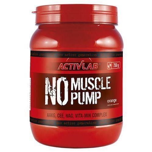 No muscle pump - 750g - orange Activlab