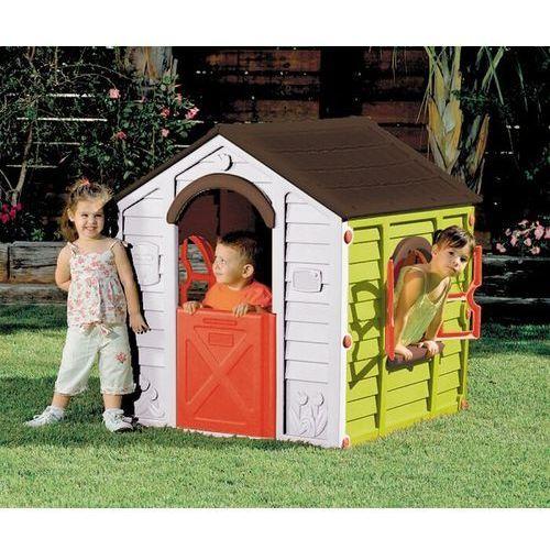 KETER domek do zabaw dla dzieci RANCHO PLAYHOUSE - zielony (7290103668563)