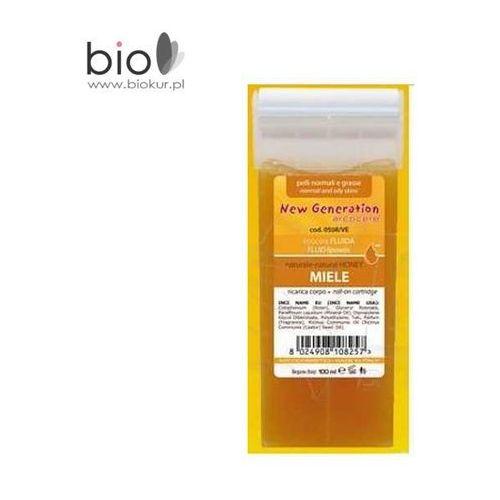 Wosk do depilacji Arcocere MIELE - szeroka rolka - 100 ml